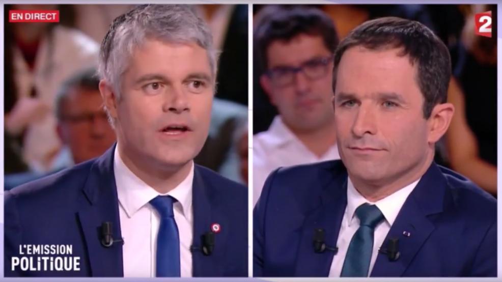 Débat face à Benoit Hamon
